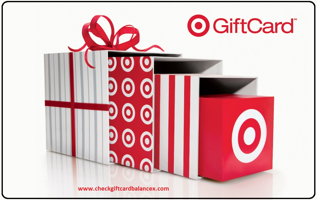 Check Target Gift card Balance Online