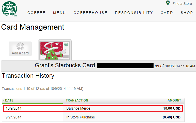 Starbucks Gift cards Check Balance Guide